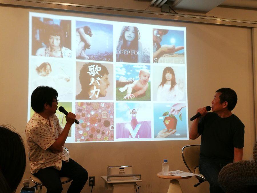 佐々木俊尚さんと亀田誠治さんのトークセッションの様子
