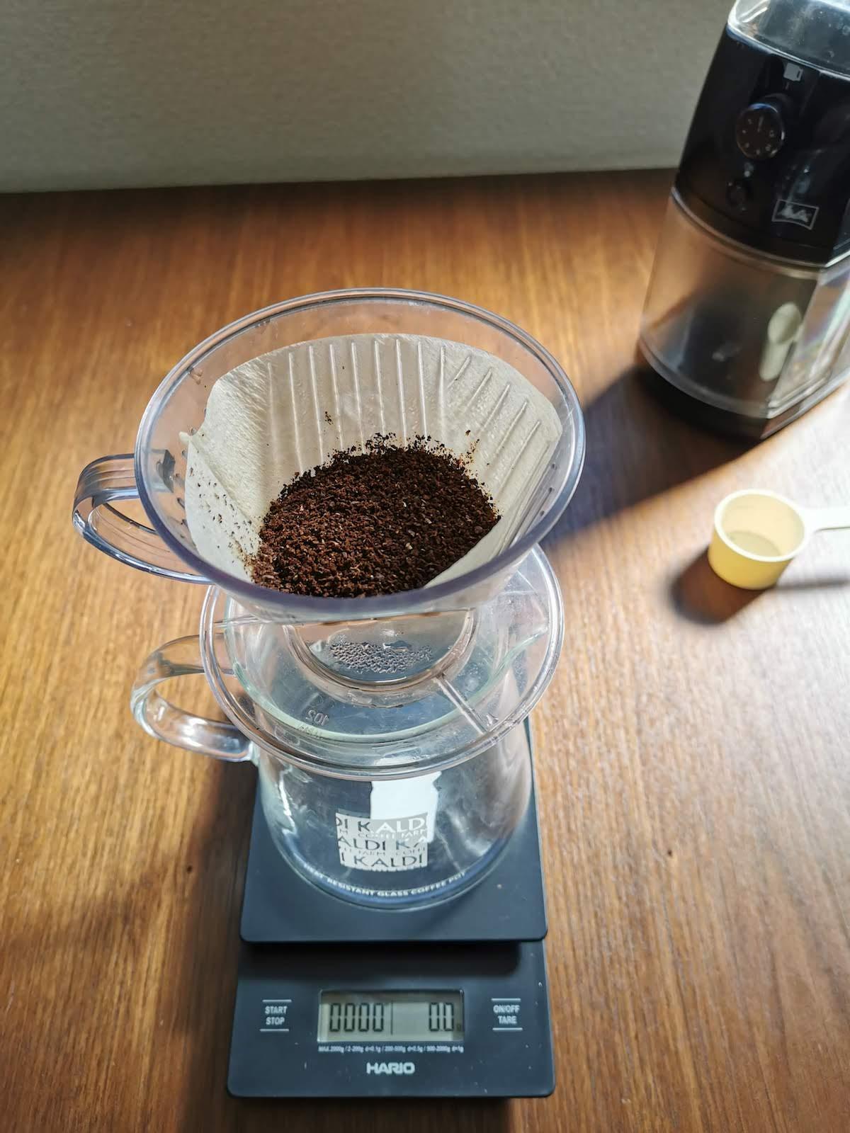 HARIO V60コーヒースケールの画像